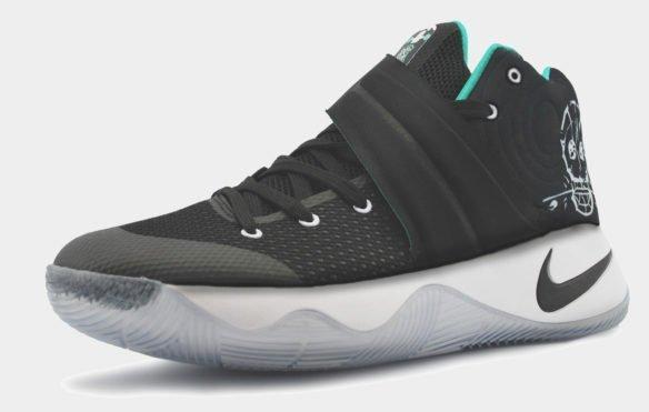 Nike Kyrie 2 черно-белые